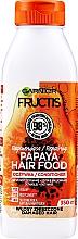 "Fragrances, Perfumes, Cosmetics Reparing Conditioner for Damaged Hair ""Papaya"" - Garnier Fructis Superfood"