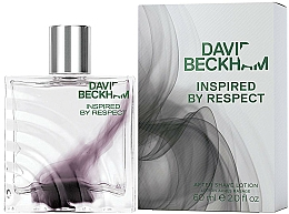 Fragrances, Perfumes, Cosmetics David Beckham Inspired by Respect - After Shave Lotion