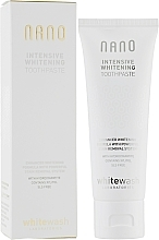 "Fragrances, Perfumes, Cosmetics Whitening Toothpaste ""Intensive Whitening with Hydroxyapatite"" - WhiteWash Laboratories Nano Intensive Whitening Toothpaste"