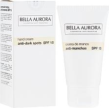 Fragrances, Perfumes, Cosmetics Anti-Pigmentation Hand Cream - Bella Aurora M7 Anti Dark Spots Hand Cream SPF15