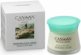 Fragrances, Perfumes, Cosmetics Nourishing Cream for Normal & Dry Skin - Canaan Minerals & Herbs Nourishing Facial Cream Normal to Dry Skin
