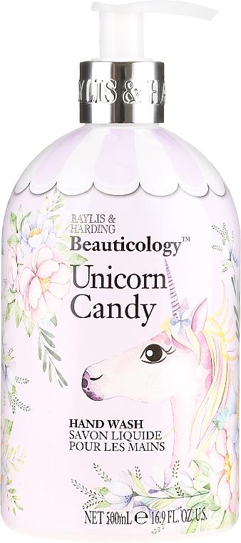 """Liquid Hand Soap """"Unicorn"""" - Baylis & Harding Beauticology Unicorn Candy Hand Wash"""