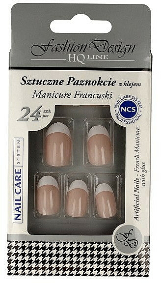"""Fake Nails """"French Manicure"""", 77951 - Top Choice Fashion Design"""