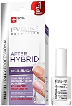 Fragrances, Perfumes, Cosmetics Nail Strengthening Conditioner - Eveline Cosmetics After Hybrid Manicure