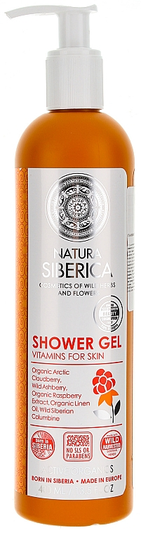 "Shower Gel ""Vitamins for Skin"" - Natura Siberica — photo N1"