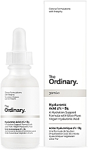 Fragrances, Perfumes, Cosmetics Hyaluronic Acid 2% + B5 Serum - The Ordinary Hyaluronic Acid 2% + B5