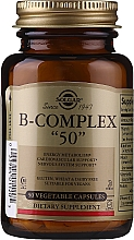"""Fragrances, Perfumes, Cosmetics Vitamin B Complex - Solgar B-Complex """"50"""""""