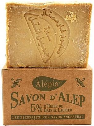 Laurel Oil 5% Soap - Alepia Soap 5% Laurel