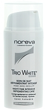 Fragrances, Perfumes, Cosmetics Night Depigmentation Solution - Noreva Laboratoires Exfoliac Trio White Night-time Intensive Depigmenting Care