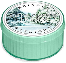 Fragrances, Perfumes, Cosmetics Tea Candle - Kringle Candle Snow Capped Fraser Daylight