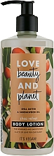 Fragrances, Perfumes, Cosmetics Body Lotion with Shea Butter - Love Beauty&Planet Shea Butter & Sandalwood Oil Lotion
