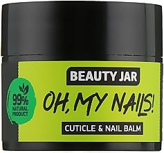 """Fragrances, Perfumes, Cosmetics Nail and Cuticle Balm """"Oh My Nails!"""" - Beauty Jar Cuticle&Nail Balm"""