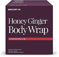 Fragrances, Perfumes, Cosmetics Honey & Ginger Anti-Cellulite Wrap - Natura Siberica Fresh Spa Kam-Chat-Ka Honey Ginger Body Wrap