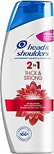 "Fragrances, Perfumes, Cosmetics Anti-Dandruff Shampoo-Conditioner 2in1 ""Thick & Strong"" - Head & Shoulders Thick & Strong"