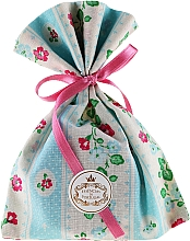 Fragrances, Perfumes, Cosmetics Scented Pouch, blue striped - Essencias De Portugal Tradition Charm Air Freshener