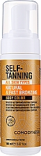Fragrances, Perfumes, Cosmetics Self-Tanning Body Mousse - Comodynes Self-Tanning Natural & Uniform Body Color