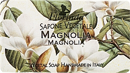 Fragrances, Perfumes, Cosmetics Vegetale Magnolia Natural Soap - Florinda Sapone Vegetale Magnolia