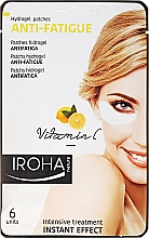 Fragrances, Perfumes, Cosmetics Eye Patches - Iroha Nature Anti-Fatigue Hydrogel Patches Vitamin C