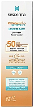 Fragrances, Perfumes, Cosmetics Baby Sunscreen Emulsion - Sesderma Repaskin Pediatrics Mineral Baby Emulsion SPF50+