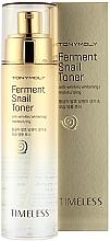 Fragrances, Perfumes, Cosmetics Fermented Snail Mucin Toner - Tony Moly Timeless Ferment Snail Toner