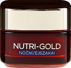 Facial Night Care - L'Oreal Paris Dermo-Expertise Nutri Gold — photo N2