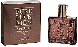 Fragrances, Perfumes, Cosmetics Linn Young Pure Luck Men Secrets - Eau de Toilette