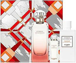 Fragrances, Perfumes, Cosmetics Hermes Un Jardin Sur La Lagune - Set (edt/100ml + edt/7.5ml+ b/lot/80ml)