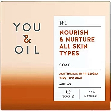Fragrances, Perfumes, Cosmetics Nourishing Soap for All Skin Types - You & Oil Nourish & Nurture All Skin Types