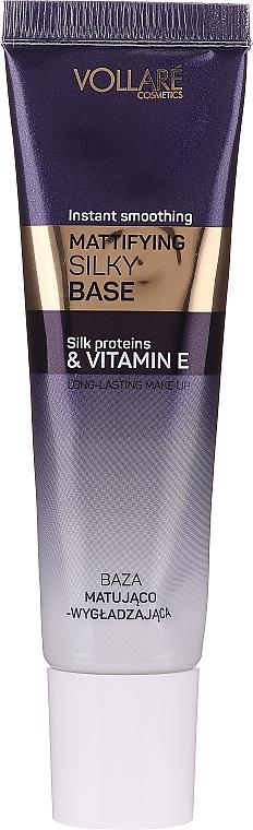 Mattifying Silky Makeup Base - Vollare Cosmetics Mattifying Silky Base Instant Smoothing