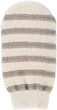 Fragrances, Perfumes, Cosmetics Shower Glove 6102, striped - Donegal