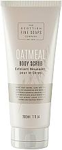 Fragrances, Perfumes, Cosmetics Body Scrub - Scottish Fine Soaps Oatmeal Body Scrub