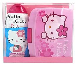 Fragrances, Perfumes, Cosmetics Set - Disney Hello Kitty (shm/bath/gel 300ml + lunch box)