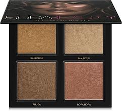Fragrances, Perfumes, Cosmetics Highlighter Palette - Huda Beauty 3D Highlighter Palette