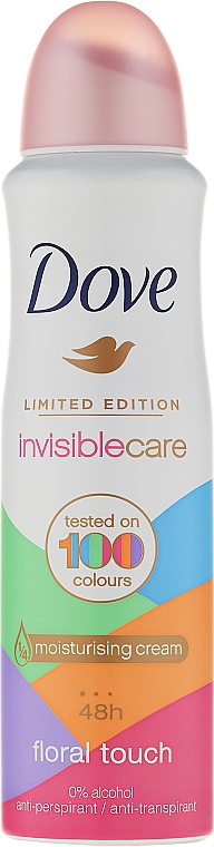 Deodorant Antiperspirant - Dove Invisible Care Floral Touch Antiperspirant Limited Edition