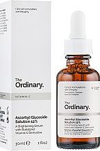 Fragrances, Perfumes, Cosmetics Brightening Serum With Stabilized Vitamin C Derivative - The Ordinary Ascorbyl Glucoside Solution 12%