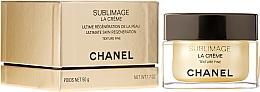 Fragrances, Perfumes, Cosmetics Anti-Aging Cream with Fine Texture - Chanel Sublimage La Creme Texture Fine