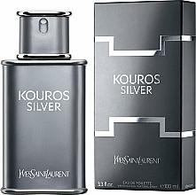 Fragrances, Perfumes, Cosmetics Yves Saint Laurent Kouros Silver - Eau de Toilette