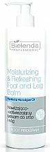 Fragrances, Perfumes, Cosmetics Moisturizing and Refreshing Foot Balm - Bielenda Professional Foot Program