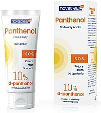 Fragrances, Perfumes, Cosmetics Face and Body After Sun Cream - Novaclear Panthenol S.O.S Face Body Cream After Sunbath