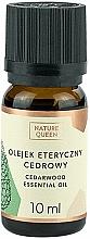 "Fragrances, Perfumes, Cosmetics Essential Oil ""Cedarwood"" - Nature Queen Essential Oil Cedarwood"