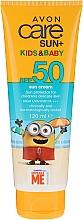 Fragrances, Perfumes, Cosmetics Kids Sunscreen Cream - Avon Sun+ Kids And Baby Sun Cream SPF50