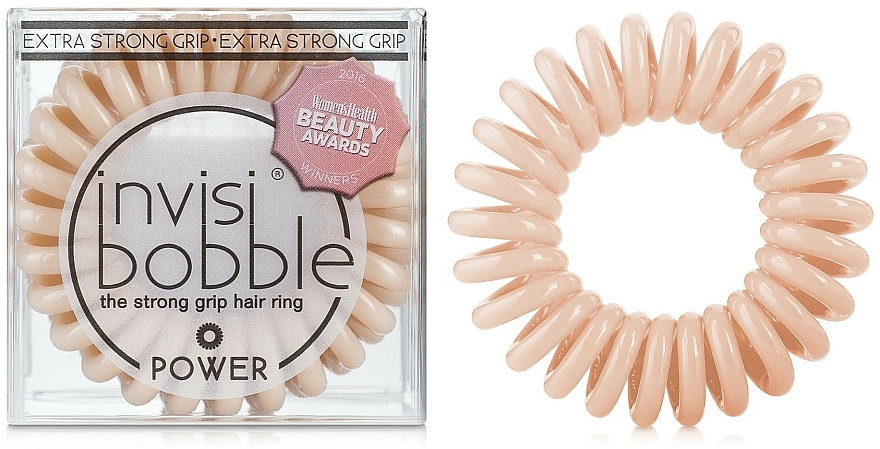 Hair Ring - Invisibobble Power To Be Or Nude To Be