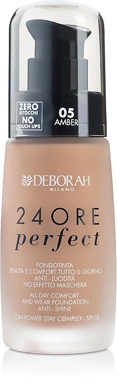 Longwear Face Foundation - Deborah 24Ore Perfect Foundation