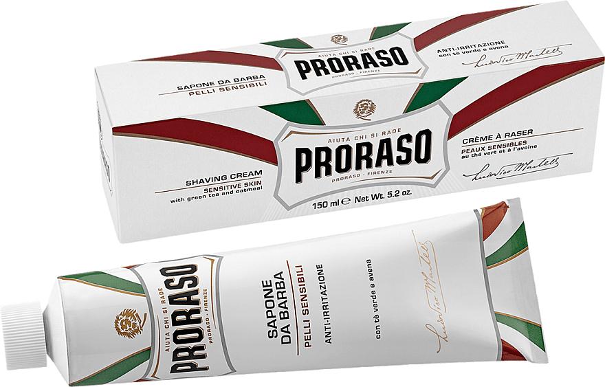 Shaving Cream for Sensitive Skin - Proraso White Shaving Cream