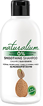 Fragrances, Perfumes, Cosmetics Smoothing Shampoo - Naturalium Almond & Pistachio Smoothing Shampoo