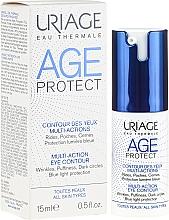Fragrances, Perfumes, Cosmetics Anti-Wrinkle Eye Contour Serum - Uriage Age Protect Multi-Action Eye Contour