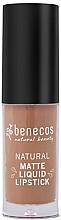 Fragrances, Perfumes, Cosmetics Liquid Matte Lipstick - Benecos Natural Matte Liquid Lipstick