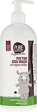 Fragrances, Perfumes, Cosmetics Body Wash Gel - Pure Beginnings Fun Time Kids Wash With Organic Rooibos