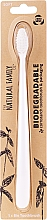 Fragrances, Perfumes, Cosmetics Biodegradable Toothbrush, white - The Natural Family Co Biodegradable Toothbrush