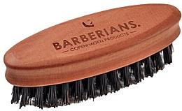 Fragrances, Perfumes, Cosmetics Beard Brush, oval - Barberians. Beard Brush Oval